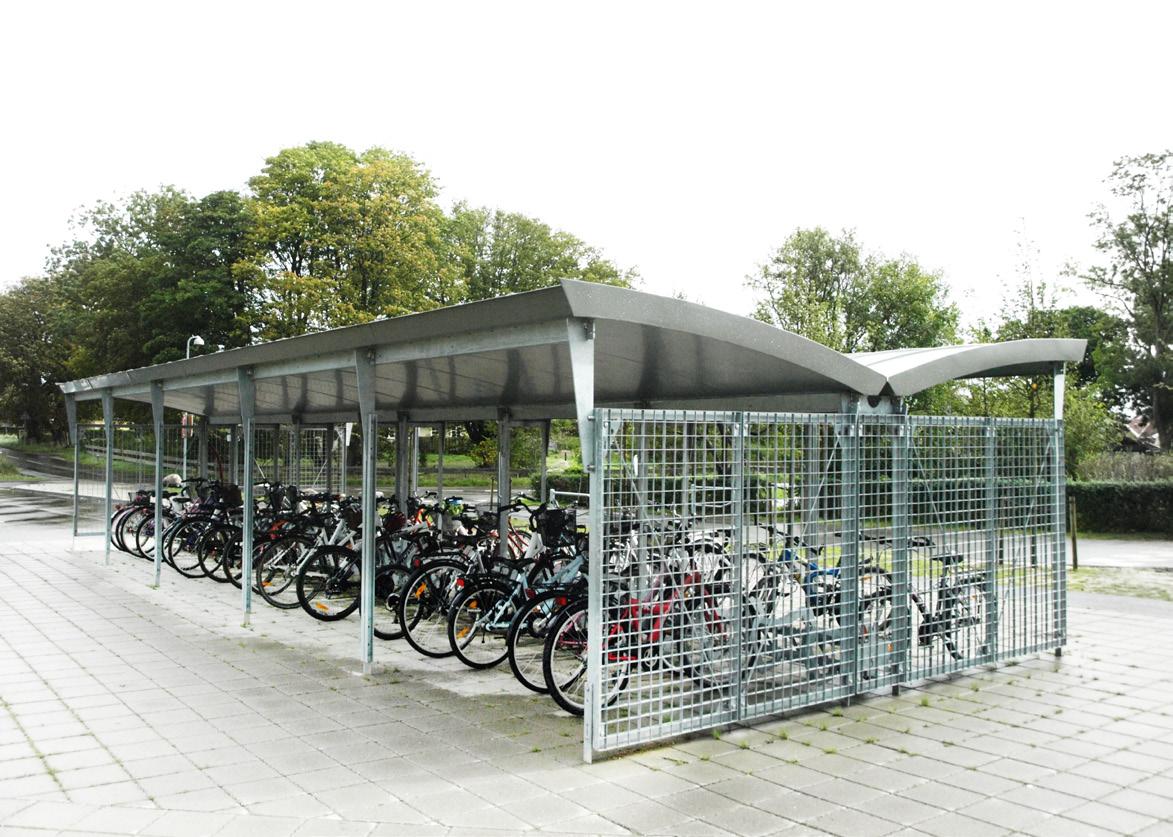 Overdækning til cykler - Skole, Nordup