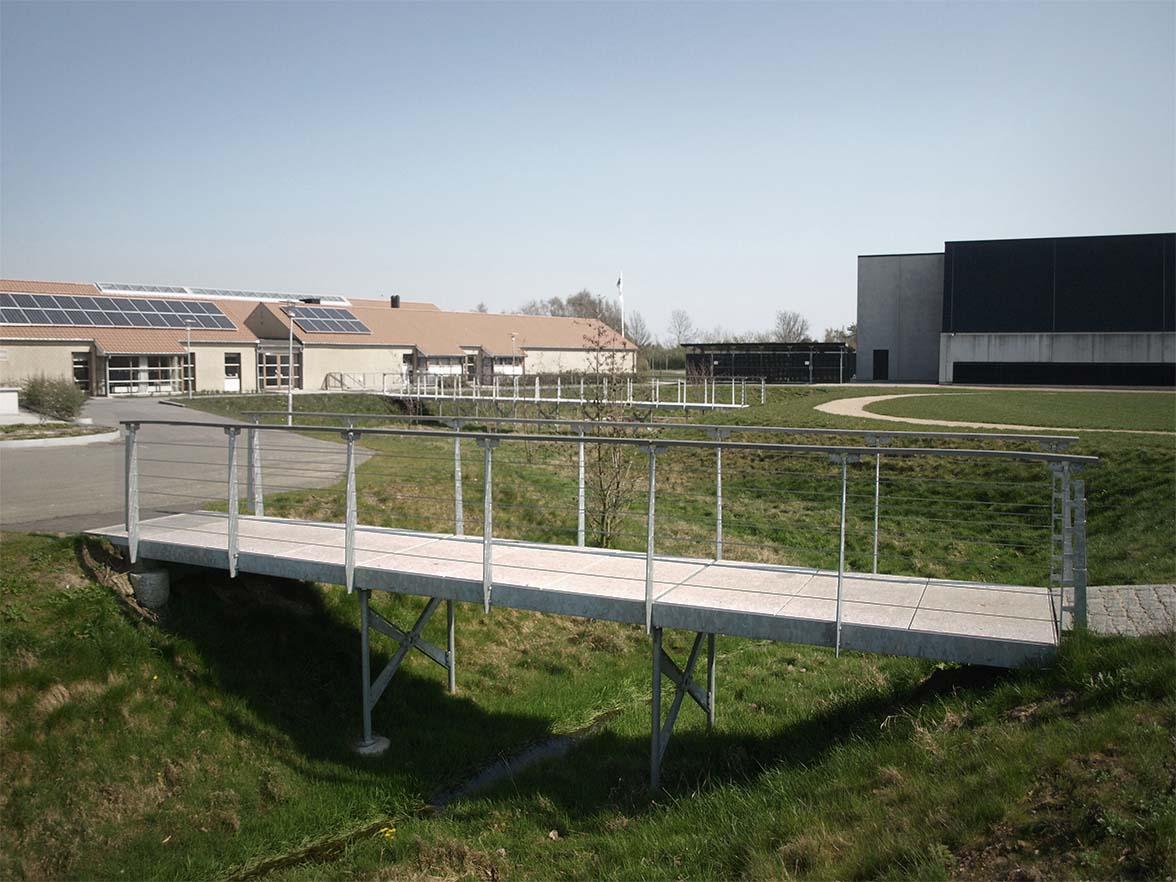 Ramper, Broer og platforme. Lille Næstved skole.