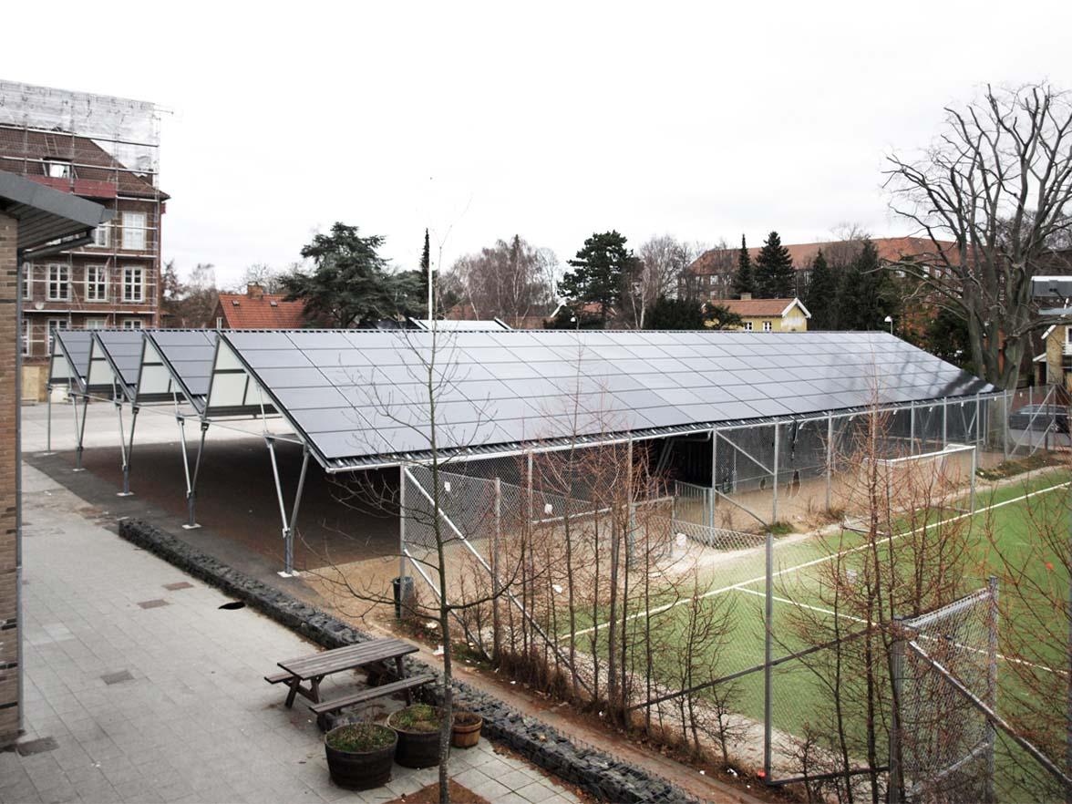Maxi overdækning Søndermarkskolen, Frederiksberg